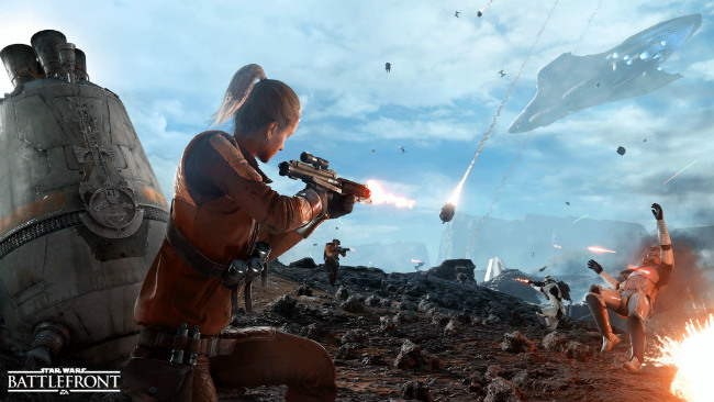Star Wars Battlefront's Drop Zone Mode Is A Novel Spin On Capture The Flag