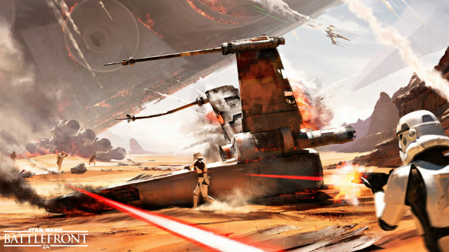 """DICE Says Star Wars Battlefront Doesn't Lift """"A Single System"""" From Battlefield Series"""