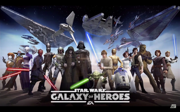 Star Wars: Galaxy Of Heroes Will Imperial March Onto Mobile Platforms Later This Year