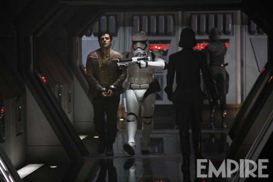 New Star Wars: The Force Awakens Image Sees Poe Dameron Come Face To Face With The First Order
