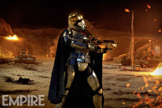 Captain Phasma Heads Into Battle In New Star Wars: The Force Awakens Still