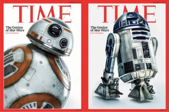 The Droids Of Star Wars: The Force Awakens Featured On Time Magazine