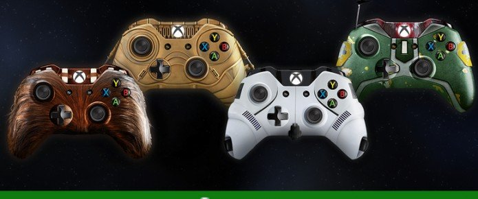 Xbox U.K. Celebrates May 4 With Star Wars Controller Concepts