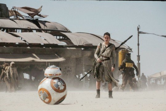Star Wars: The Force Awakens Footage