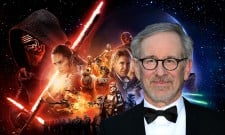 "Steven Spielberg Believes Star Wars: The Force Awakens Has What It Takes To Be ""Biggest Movie Ever"""