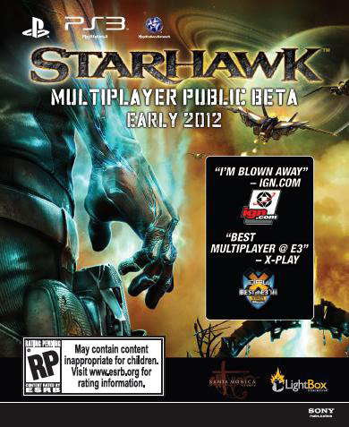 Buy Uncharted 3, Get Into Starhawk Beta
