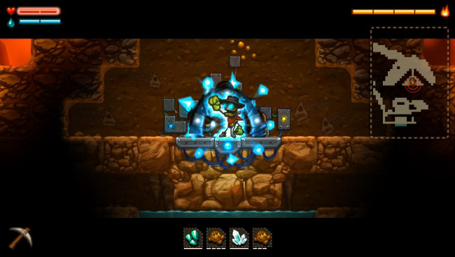 SteamWorld Dig (PlayStation 4) Review