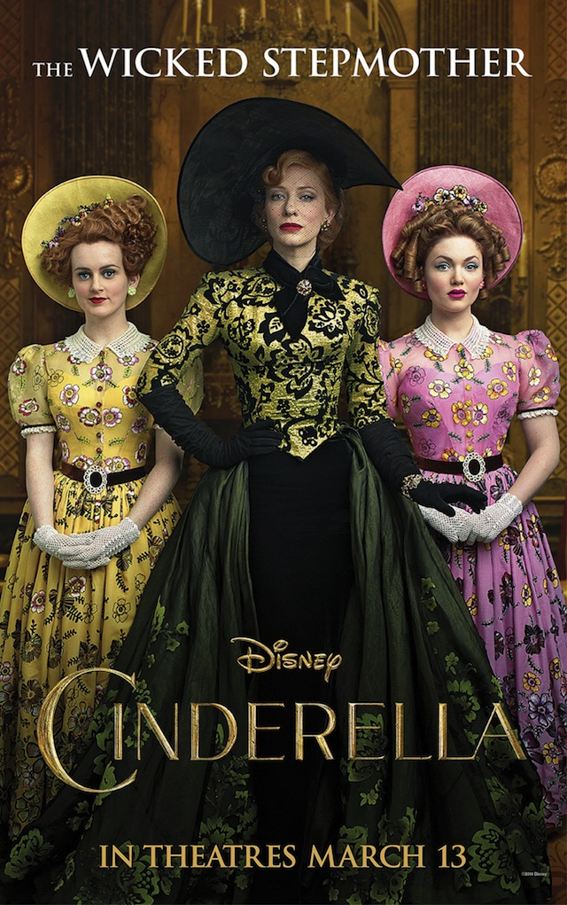 Cate Blanchett Looks Wicked In New Cinderella Character Poster