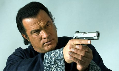 Steven Seagal stars in On 001 Sylvester Stallone Hitting Up Steven Seagal For The Expendables 3