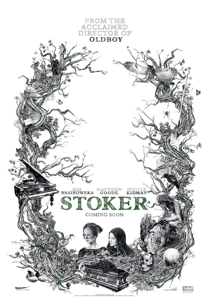 First Poster For Park Chan-Wook's Stoker Looks Suitably Freaky