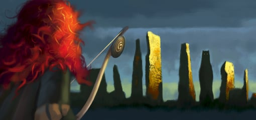 New Image From Pixar's Brave