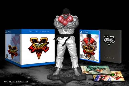 Street Fighter V Collector's Edition Comes With A Snazzy Ryu Statue