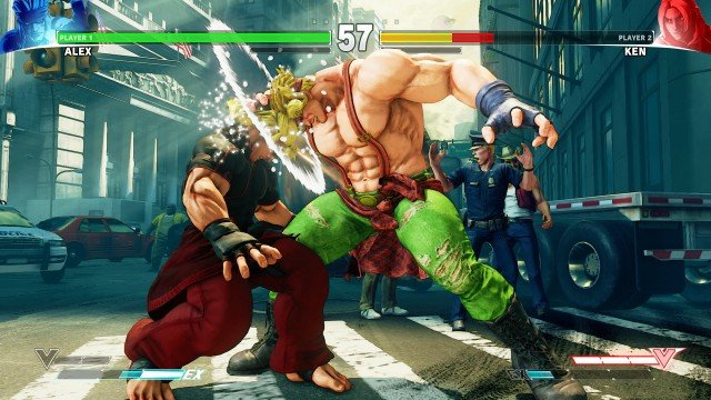 Street Fighter V Alex