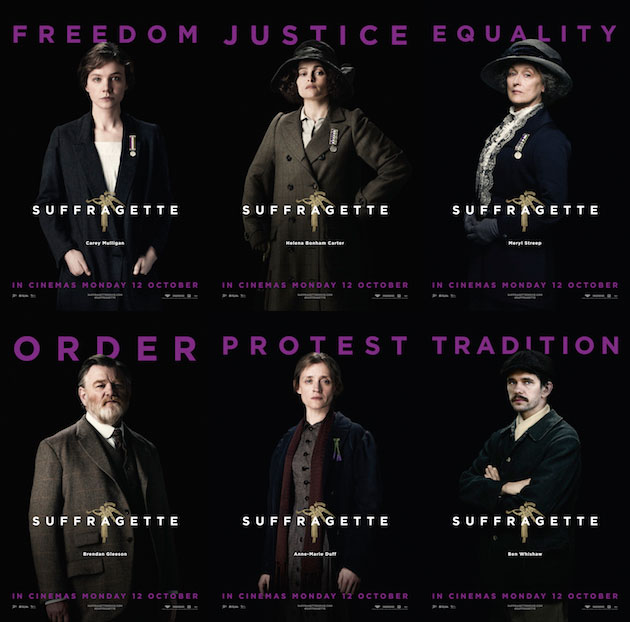 New Batch Of Posters For Suffragette Spotlight The History Makers