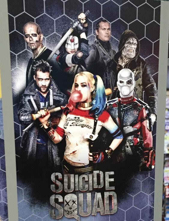 Task Force X Assembles On Latest Promo Poster For Suicide Squad