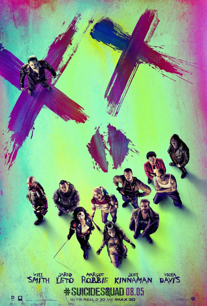 Task Force X Assembles With The Joker On New Suicide Squad Poster
