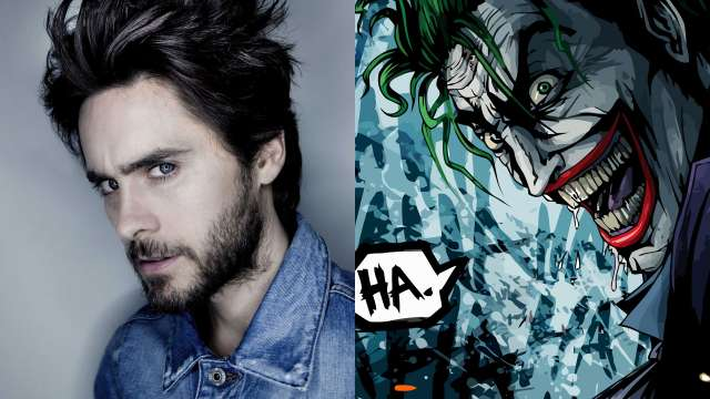 First Look At Jared Leto As The Joker In Suicide Squad
