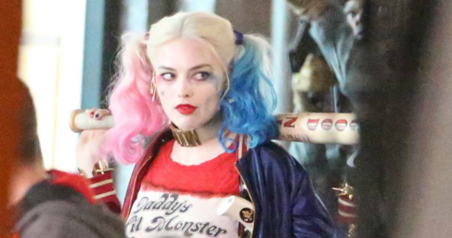 Harley Quinn Puts The Pedal To The Metal In Suicide Squad Set Video