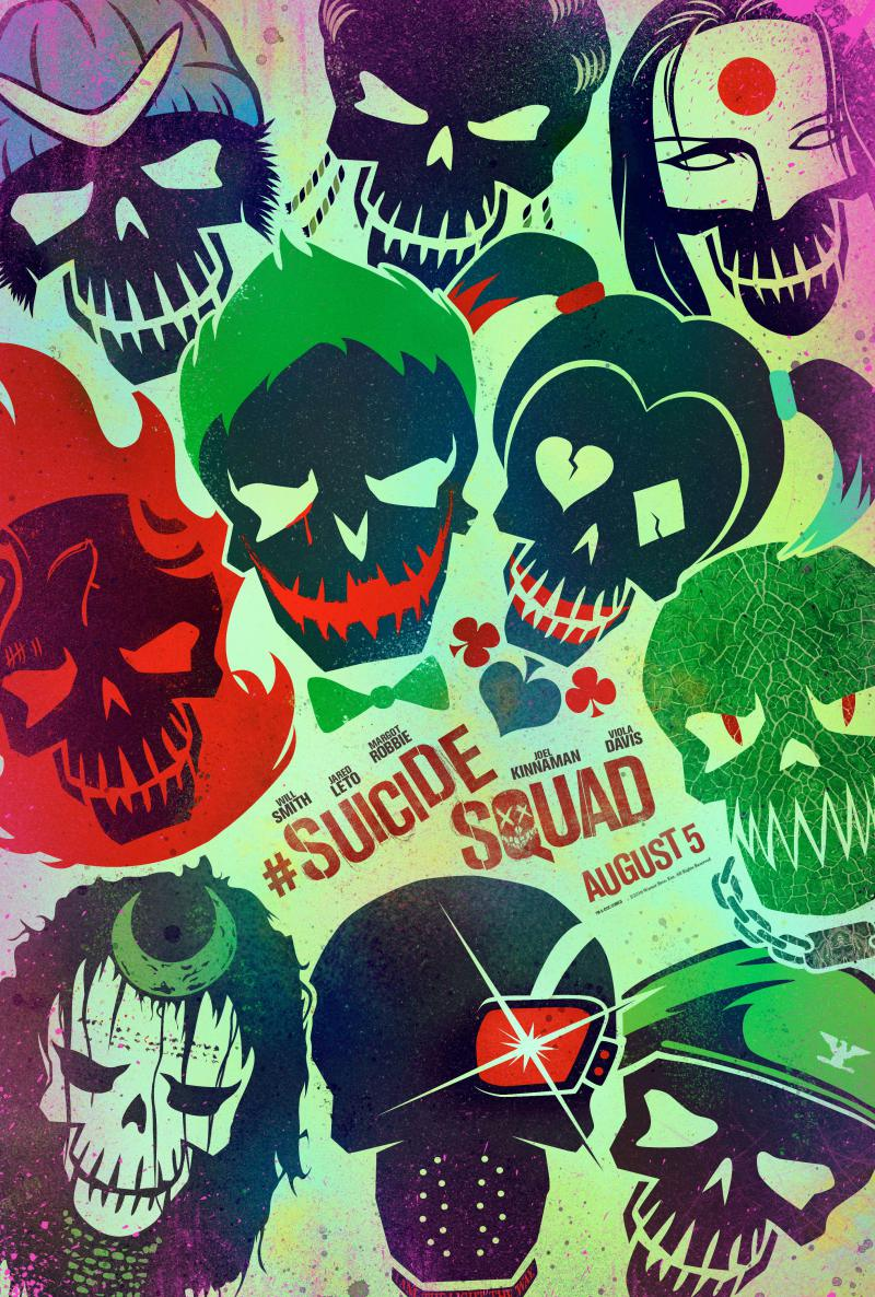 Check Out These Awesome New Suicide Squad Posters