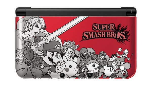 Nintendo Unveils Gorgeous Super Smash Bros. Themed 3DS; Meta Knight Joins In-Game Roster