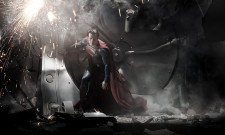 First Close-Ups Of Superman On Man Of Steel Set Are Too Close