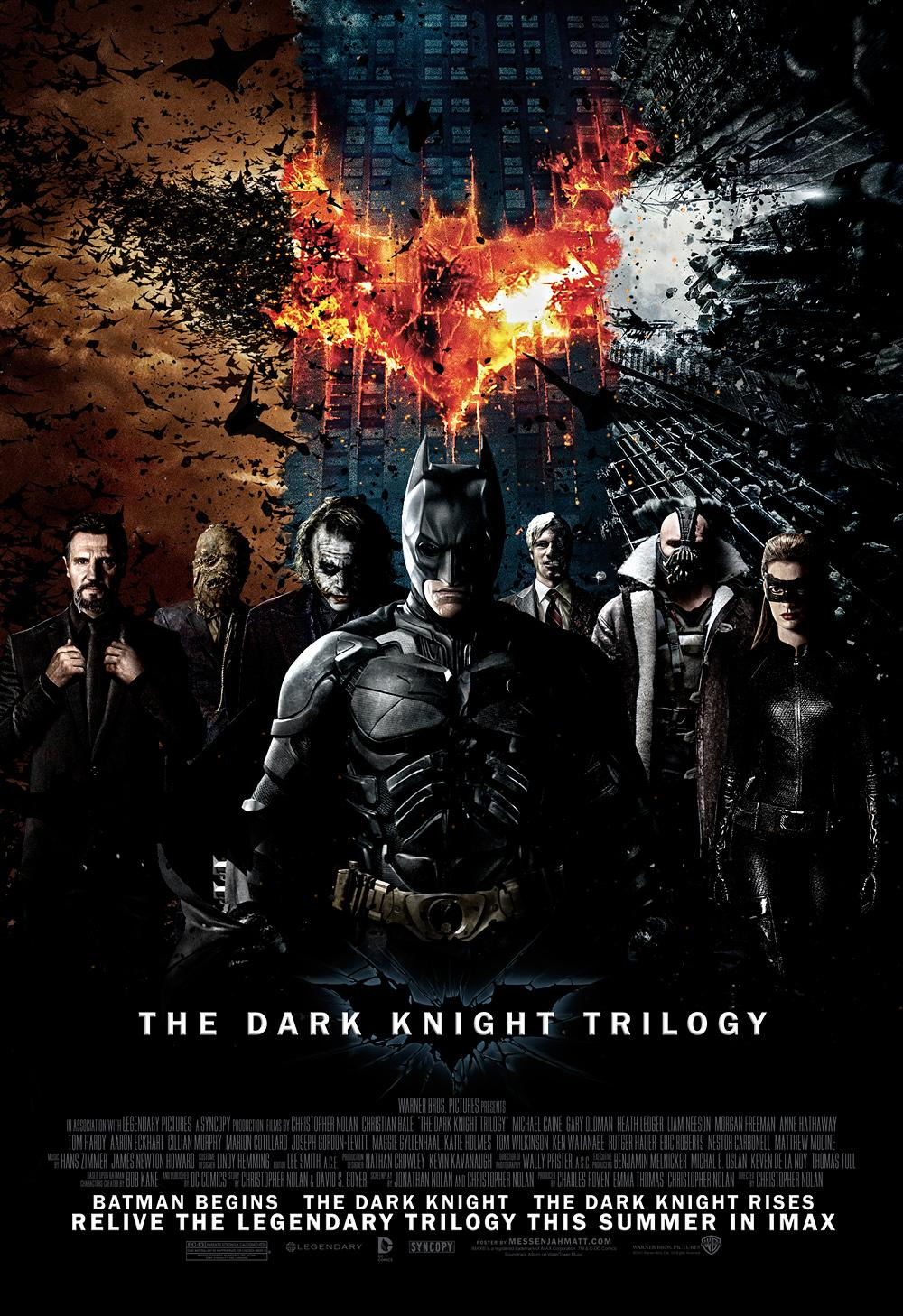 Check Out This Fan-Made Dark Knight Trilogy Poster