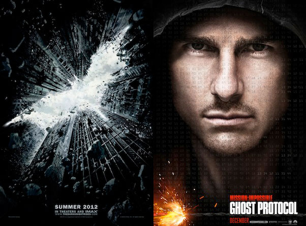 6 Minutes Of The Dark Knight Rises Attached To Mission Impossible 4 IMAX Prints