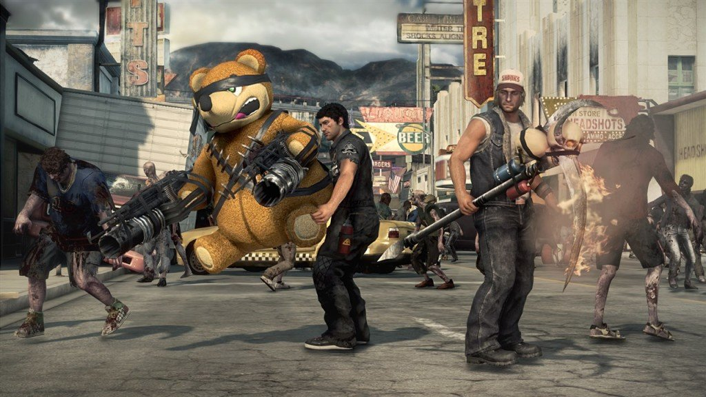 TGS 2013 Dead Rising 3 screenshots shows super weapon combos 3 1024x576 Dead Rising 3 Gallery
