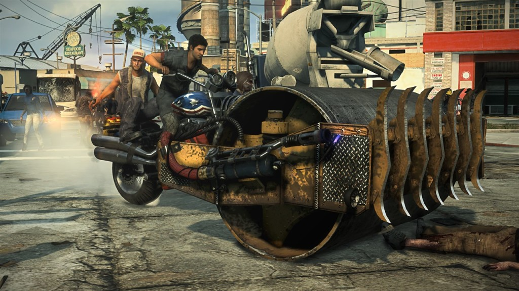 TGS 2013 Dead Rising 3 screenshots shows super weapon combos 5 1024x576 Dead Rising 3 Gallery