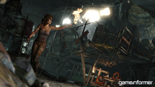 New Screenshots Of A Youthful Lara Croft