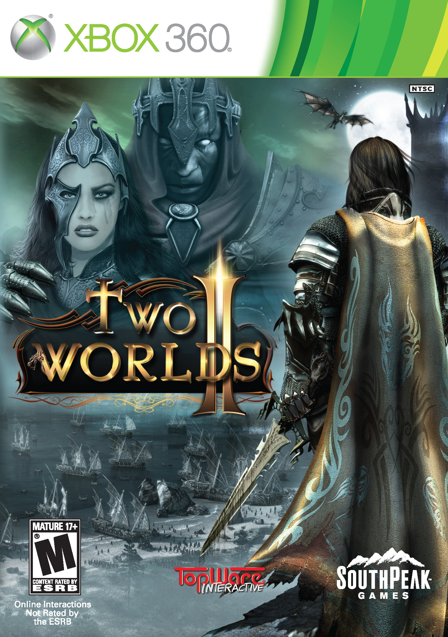 Two Worlds II Box Art And Pre-order Bonuses