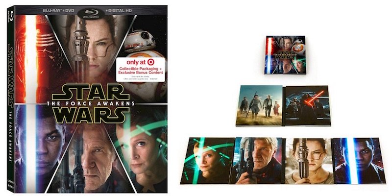 Target Exclusive Star Wars: The Force Awakens Blu-Ray Details Revealed