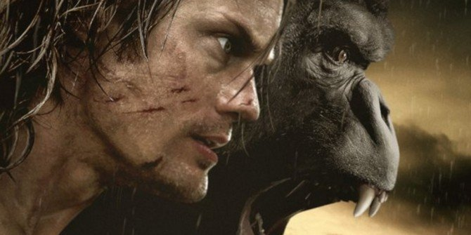 Alexander Skarsgard Is Ready For Action In The Legend Of Tarzan Poster