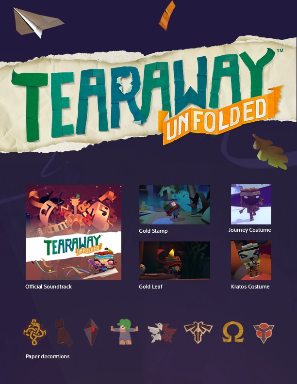 Tearaway Unfolded Marches Onto PlayStation 4 In September