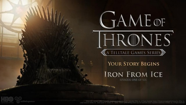 "Telltale's Game Of Thrones To Be Six Episodes In Length, Will Premiere ""Soon"""