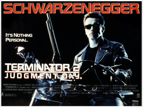 Terminator 2 Judgement Day poster 480x360 We Got Netflix Covered: Naughty Secretaries, Ghost Protocols And A Cabin In The Woods...