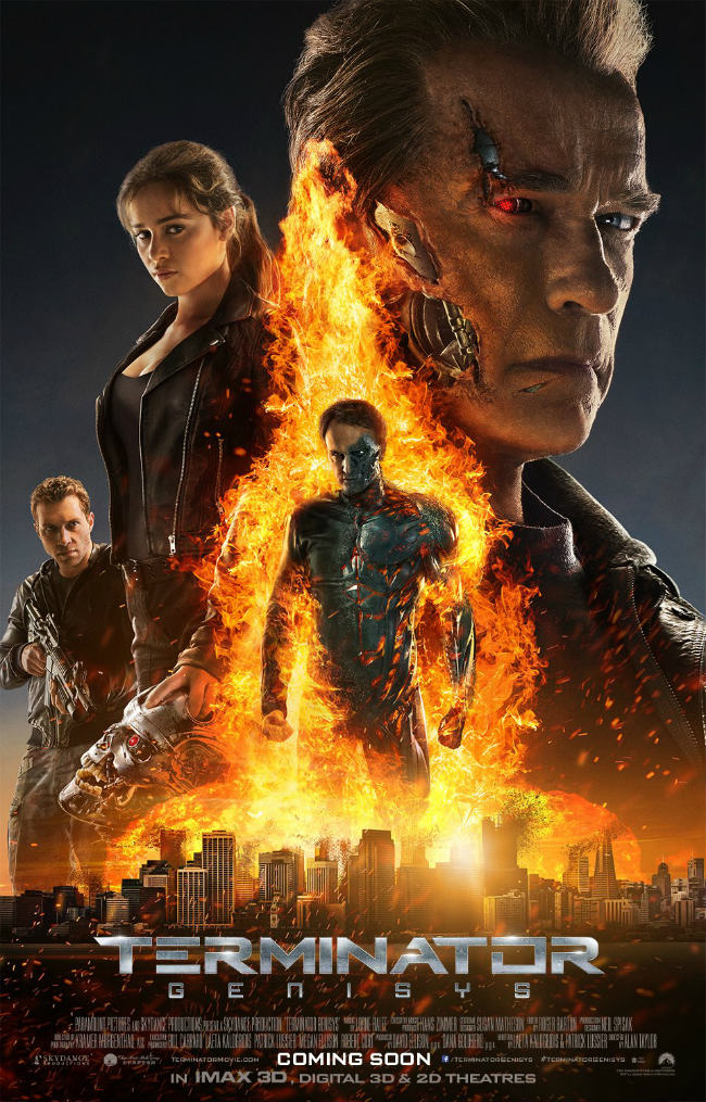 Timelines Merge In Explosive New Terminator: Genisys Poster