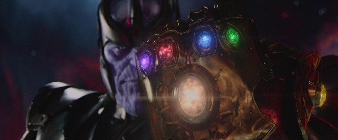 Thanos Wields The Infinity Gauntlet In Avengers: Infinity War Teaser Image