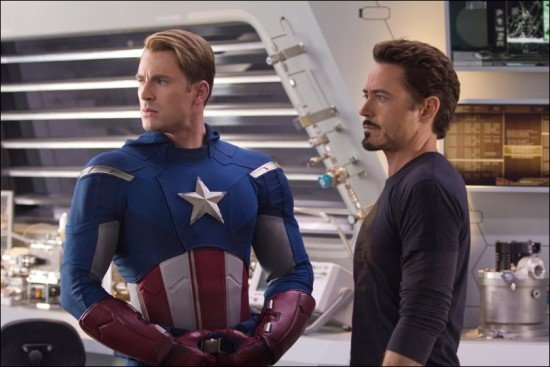 Seven New Photos From The Avengers