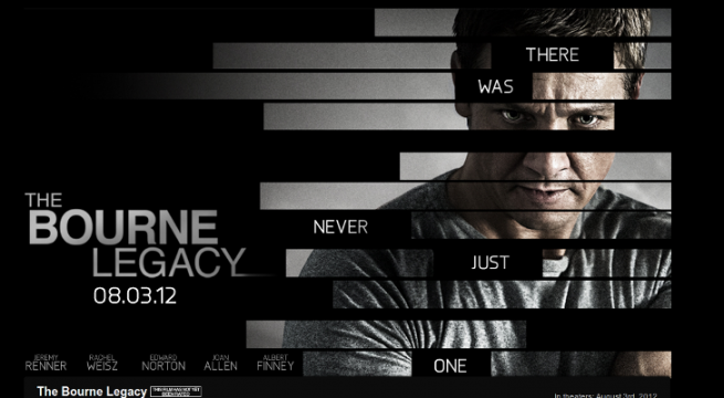 New Poster And Trailer For The Bourne Legacy