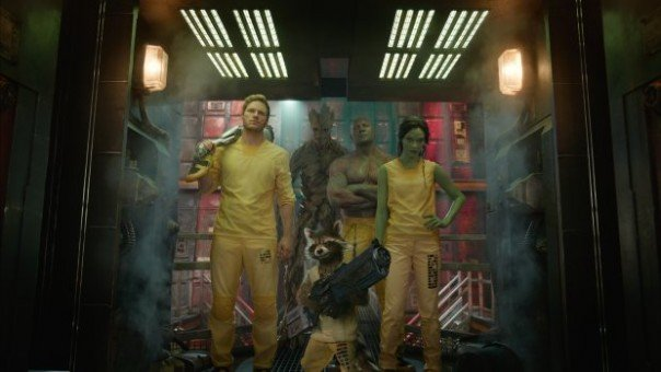 The Cast of Guardians of the Galaxy