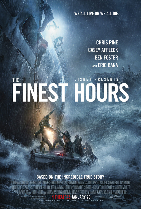 Fierce New Trailer For The Finest Hours Depicts Danger At Sea