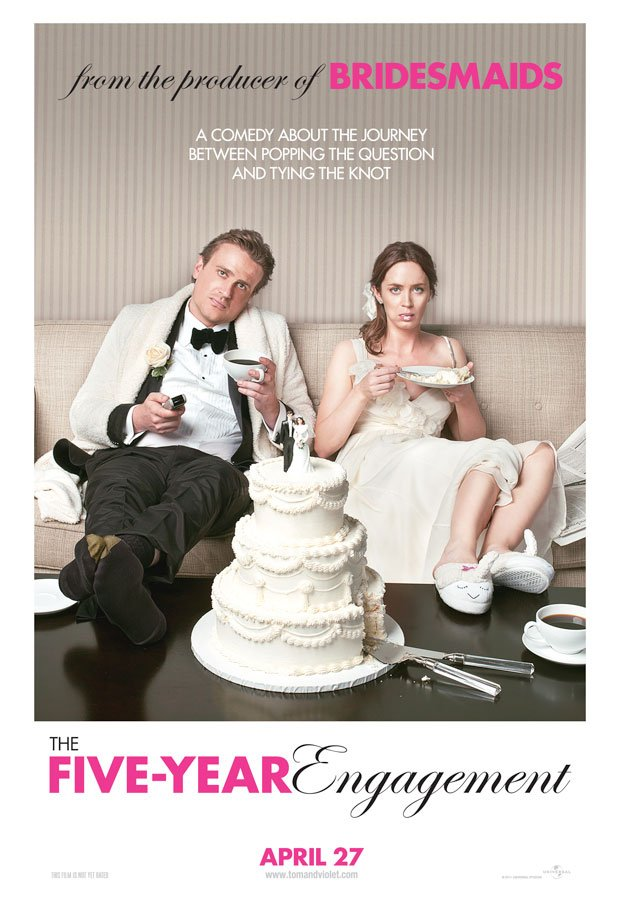First Trailer And Poster For The Five Year Engagement