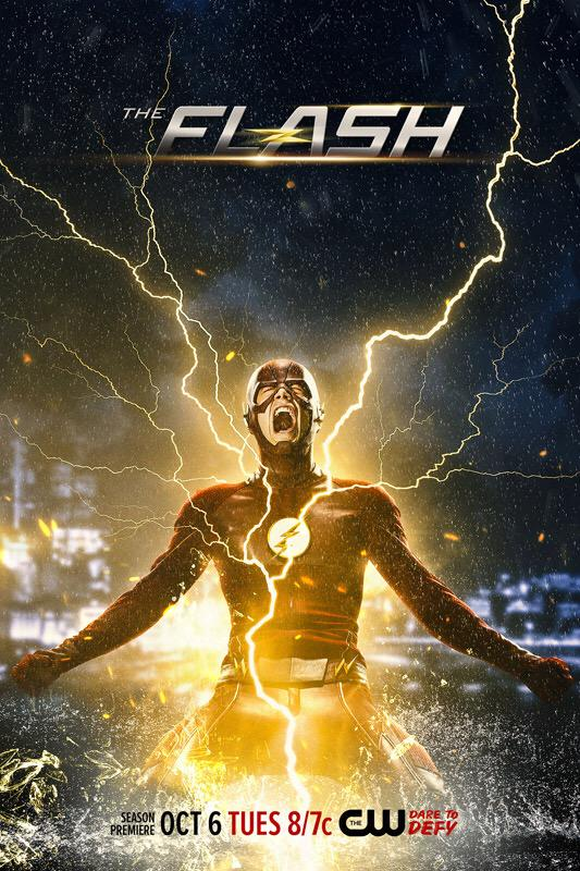 Electrifying New Poster For Season 2 Of The Flash