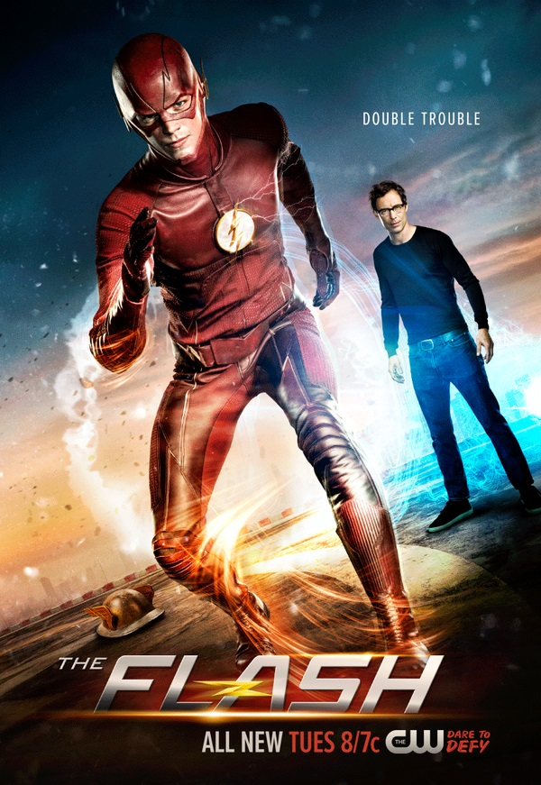 Harrison Wells Menaces The Flash In New Poster For Season 2