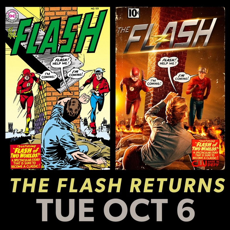 First Look At Teddy Sears As Jay Garrick In The Flash Season 2