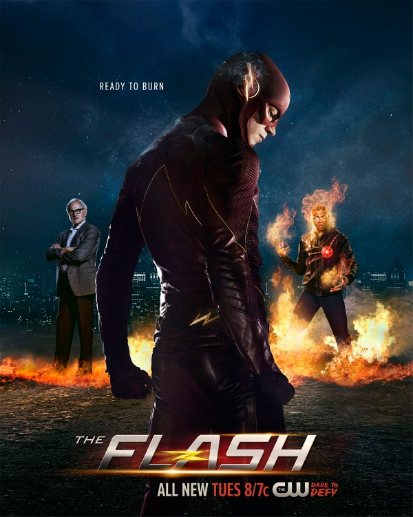 The New Firestorm Is Ready For Action On Awesome Poster For The Flash