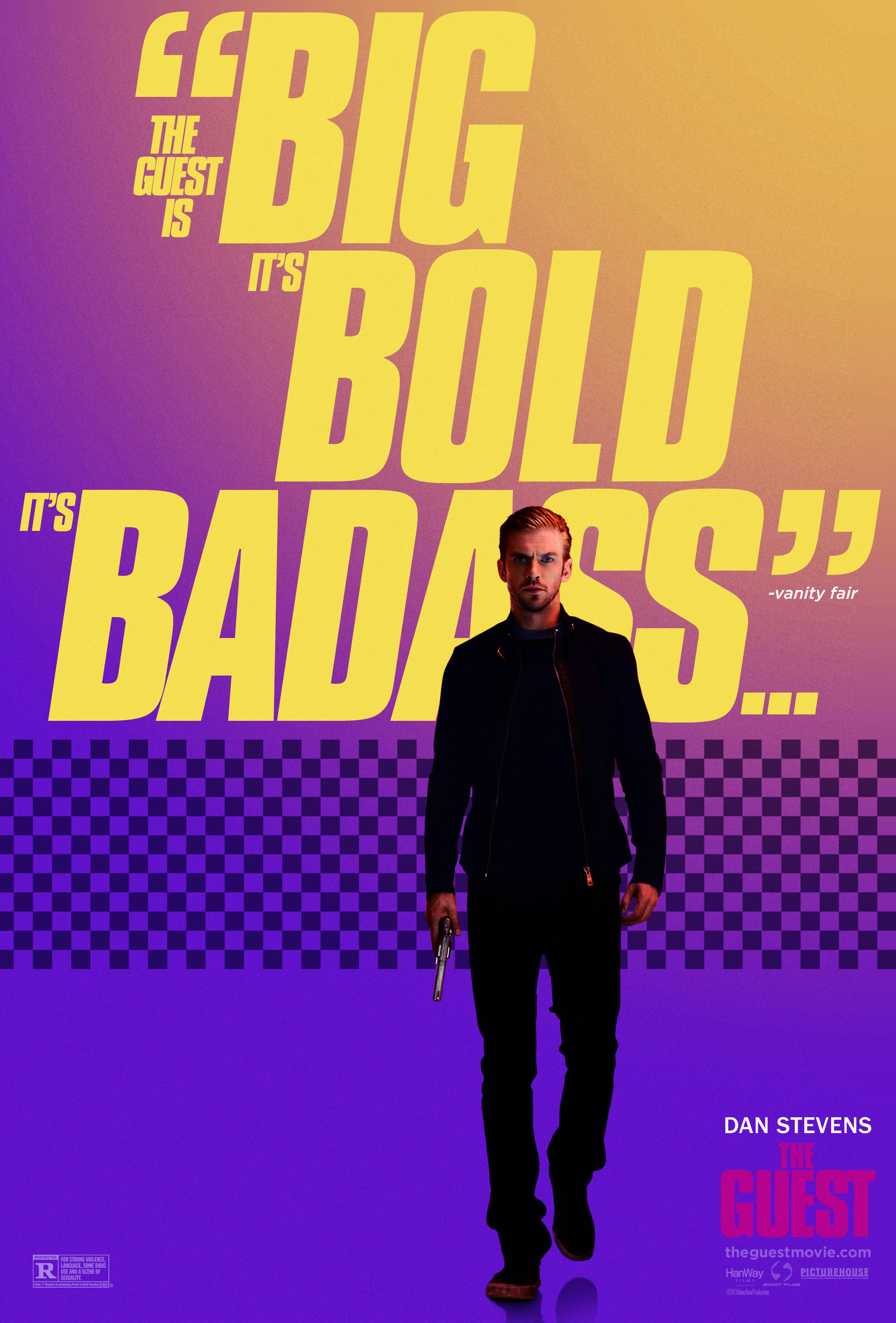 Two Stark Posters Released For Adam Wingard's Psychological Thriller The Guest