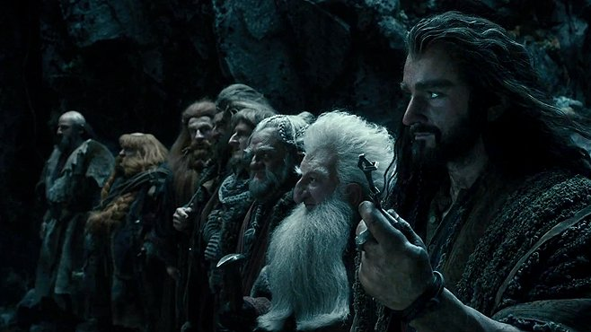 The Hobbit The Desolation of Smaug the dwarves prepare to enter