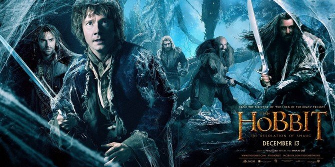 The Hobbit The Desolation of Smaug wallpaper